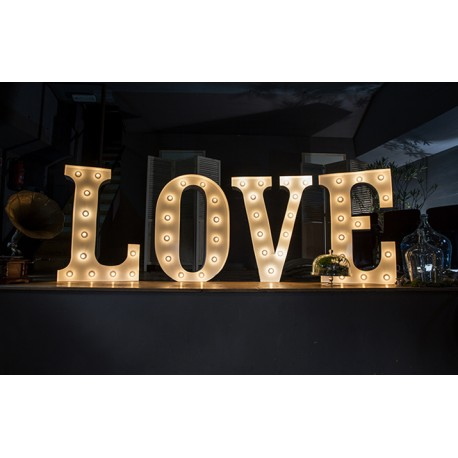 LOVE lumineux