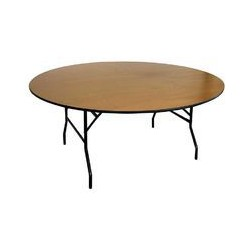 Table de banquet ronde 1.50 m