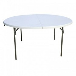 Table de banquet ronde 1.60 m