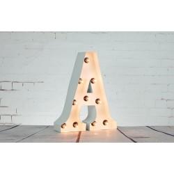 Lettre Lumineuse (tout l'alphabet)