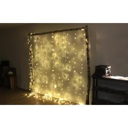 Guirlande rideau LED