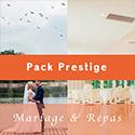 Pack Mariage & Repas Prestige