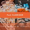 Pack vin d'honneur classique