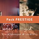 Pack vin d'honneur prestige