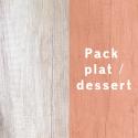 Pack PLAT / DESSERT