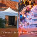 Tonnelles et Repas à table